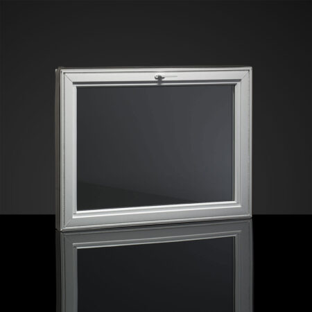 basement hopper window